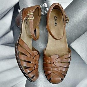 CLARKS Buckle Sandals